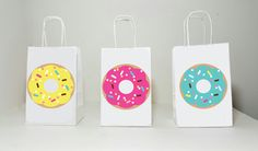 Donut Goody Bags, Donuts Party Bags, Donut Gift Bags, Donut Treat Bags, Donut Goodie Bags, Donut Birthday, Donut Party, Donut Favors by CraftyCue on Etsy https://www.etsy.com/listing/458442730/donut-goody-bags-donuts-party-bags-donut
