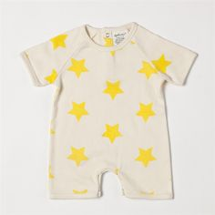 Organic Cotton Romper by Soft Baby