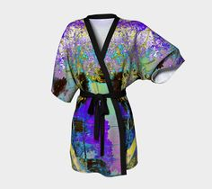 00494 Kimono Robe by designsbyjaffe on Etsy