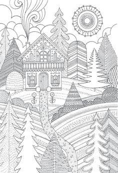Дизайн раскраски, домашняя школа: Naver Blog