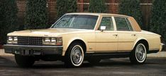 1975 Cadillac Seville this looks about right...just a Cadillac? Really no big time luxury car