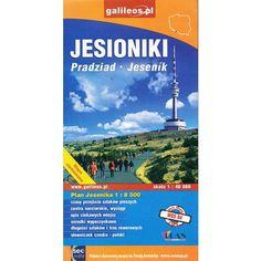 Jesioniki, 1:50 000 mapa turystyczna tylko 8,40zł w ArtTravel.pl