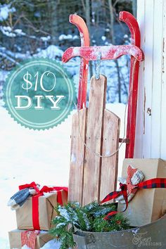 Easy to build $10 Vintage Sled tutorial on /vfynes/