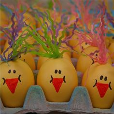 Chickie  Cascarones Confetti Eggs by gracieseggies on Etsy