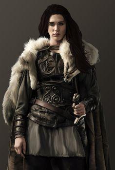 Joan, armor and sword