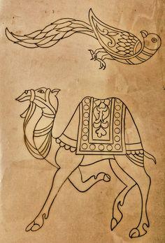 Mural Painting, Mural Art, Fabric Painting, Kalamkari Painting, Madhubani Painting, Outline Drawings, Pencil Art Drawings, Hand Embroidery Design Patterns, Fabric Paint Designs