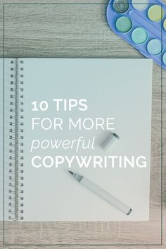 Becoming a better writer sounds vague; in this post, we've broken it down into ten simple tips that you can use to make your copywriting more powerful.
