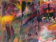 """Saatchi+Online+Artist+Gloria+Verge;+Painting,+""""Abstract+garden""""+#art"""