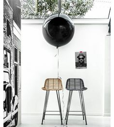 Makeover your kitchen with these wicker bar stools from HK Living.  www.granitelane.com.au