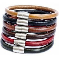Panama Leather Bracelets