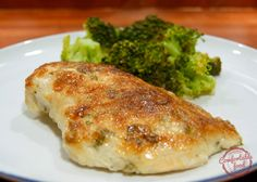 comfortable food - super succulent chicken breasts with lemon and basil