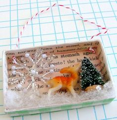 Winter Wonderland Diorama Ornament