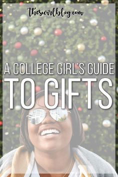 A College Girl's Gift Guide! - the swirl College Life Hacks, College Success, College Classes, College Years, College Student Gifts, College Graduation, College Students, University Tips, Lack Of Motivation