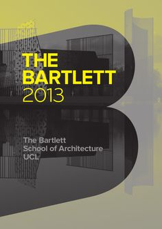 The Bartlett Book 2013 is a comprehensive and richly illustrated guide to the distinctive and radical work of Bartlett students and researchers across the school's undergraduate, postgraduate and professional courses.