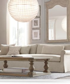 1000 images about for the home on pinterest restoration hardware mantles and salvaged wood - Small spaces restoration hardware set ...