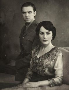Downton Abbey - this actually looks like an old photograph!