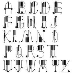 Alphabet A, Handwriting Alphabet, Hand Lettering Alphabet, Alphabet Design, Calligraphy Letters, Tattoo Lettering Fonts, Lettering Styles, Script Fonts, Music Letters