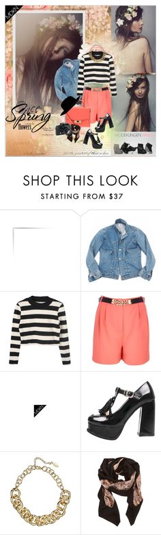 """""""MODEKUNGEN - Young, Wild & Free"""" by vidutoria ❤ liked on Polyvore featuring Once Upon a Time, River Island, MDKN, Kate Spade, Witchery, Kelly Wearstler and Nikon"""
