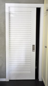 Architect Residence in Miami tropical-bedroom True Vented Louver Doors by Supa Doors. Used & Plantation louvered pocket door | Interiors | Pinterest | Pocket ... pezcame.com