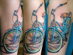 Bicycle Tattoos | MadSCAR