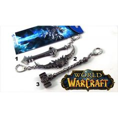 World of Warcraft metalni privesci V001