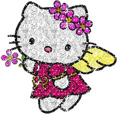 Here are some of our favorite Hello Kitty Animated Gifs. Check out this cool artwork all about hello kitty. Hello Kitty Outfit, Hello Kitty Fotos, Hello Kitty Imagenes, Hello Kitty Clothes, Hello Kitty Art, Hello Kitty Themes, Hello Kitty Pictures, Kitty Images, Hello Kitty Backgrounds
