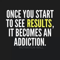 Once you start seeing results! Fitness inspiration!