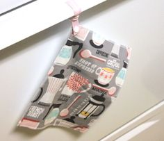 Hanging Reusable Paper Towel or Hanging Unpaper by TheGreenHaven, $15.00