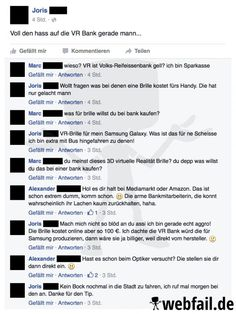 Realitätsverlust in der Bank Facebook Humor, Facebook Fail Des Tages, Text Fails, Funny Phrases, Funny Text Messages, Stupid People, Funny Pins, Make You Smile, Funny Texts