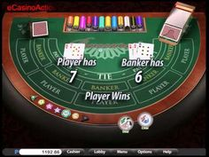 Western Baccarat FREE @ Mobile Casino Action