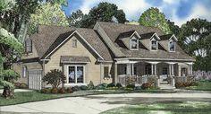 Quail Drive House Plan (2,300 sq ft, 76 x 53, 4 bed, 3 bath, 2 garage) -optional walkout basement, jack and jill, breakfast nook, bonus storage, back porch, fireplace, jacuzzi, kitchen peninsula