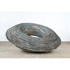 "David Jensz - ""Cosmic Spin"" 2009, Corrugated Iron, Steel, Timber"