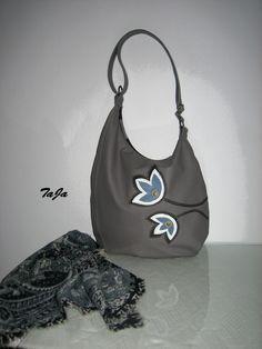 bd75017f66 Kontrast šedé a modro-bílé   Zboží prodejce TaJa