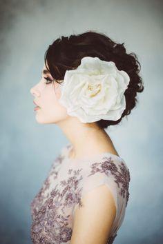 Kwiat do włosów by Kasia Rodak