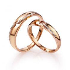 7dcd0b2145e0 Золотое Обручальное кольцо с бриллиантом (арт. WRA856W), купить в ювелирном  магазине Zbird