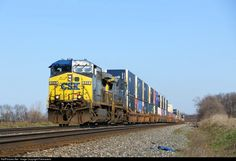 RailPictures.Net Photo: CSXT 429 CSX Transportation (CSXT) GE AC4400CW at Alida, Indiana by Firemaneric