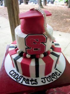 NCSU Graduation cake