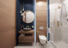 Bathroom Design Luxury, Modern Bathroom Design, Bad Inspiration, Bathroom Inspiration, Bad Styling, Toilet Design, Bathroom Styling, Small Bathroom, House Design