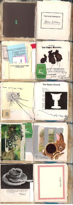 Art journal of Sonja Ahlers.