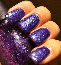My Purple Franken Glitterbomb!