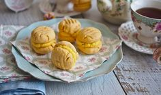 The Softest Passionfruit Melting Moments That Will Melt In Your Mouth!