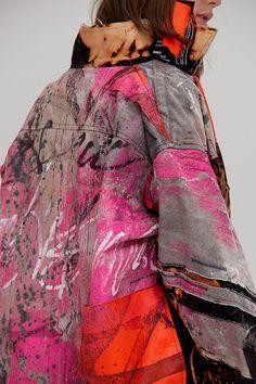 Fashion Details, Diy Fashion, Ideias Fashion, Womens Fashion, Fashion Design, Fashion Trends, Custom Clothes, Diy Clothes, Mario Sorrenti