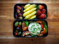 chicken salad bento from r/bento on Reddit