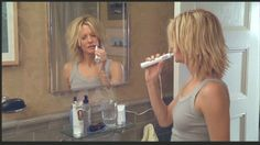Meg Ryan as Kate in Kate & Leopold.. love this blunt layered cut