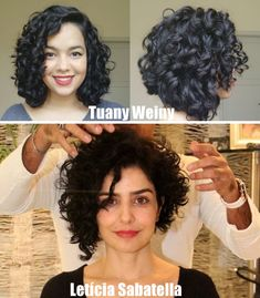 To have beautiful curls in good shape, your hair must be well hydrated to keep all their punch. You want to know the implacable theorem and the secret of the gods: Naturally curly hair is necessarily very well hydrated. Curly Hair Cuts, Short Curly Hair, Curly Bob, Natural Hair Styles, Short Hair Styles, Hair Game, Curled Hairstyles, Hair Inspiration, Your Hair