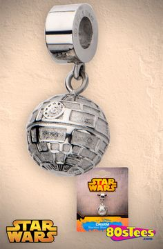 Star Wars Death Star Dangle Charm: Star Wars Jewelry