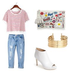 """""""F U N """" by camille-cizmic on Polyvore featuring mode, Anya Hindmarch, Via Spiga, H&M et MANGO"""