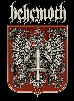 """BEHEMOTH """"Rzeczpospolita Niewierna"""" on Behance"""