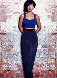 Meagan Good - Rolling Out Magazine My Black Is Beautiful, Beautiful People, Beautiful Women, Beautiful Body, Beautiful Pictures, Megan Good, Hobble Skirt, Blue Lipstick, Crazy Lipstick