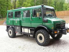 I spotted this Unimog U1550L on a Benz World forum. It looks like an interesting custom build, though one of the forum members questioned the wisdom of building a rigid body on a flexible chassis. …